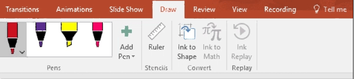 MS Office – How To Write And Draw With Ink